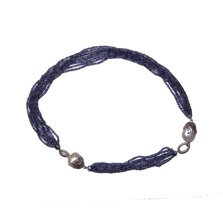 Necklace & Bracelet Suite - Iolite